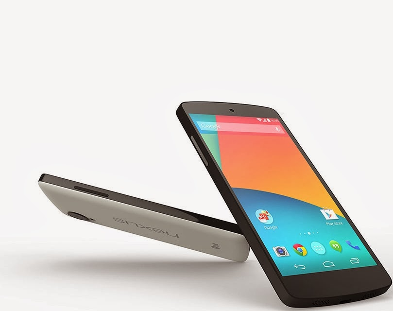 Nexus 5 six more colors are on the way