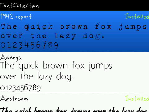 download font control for blackberry 8520