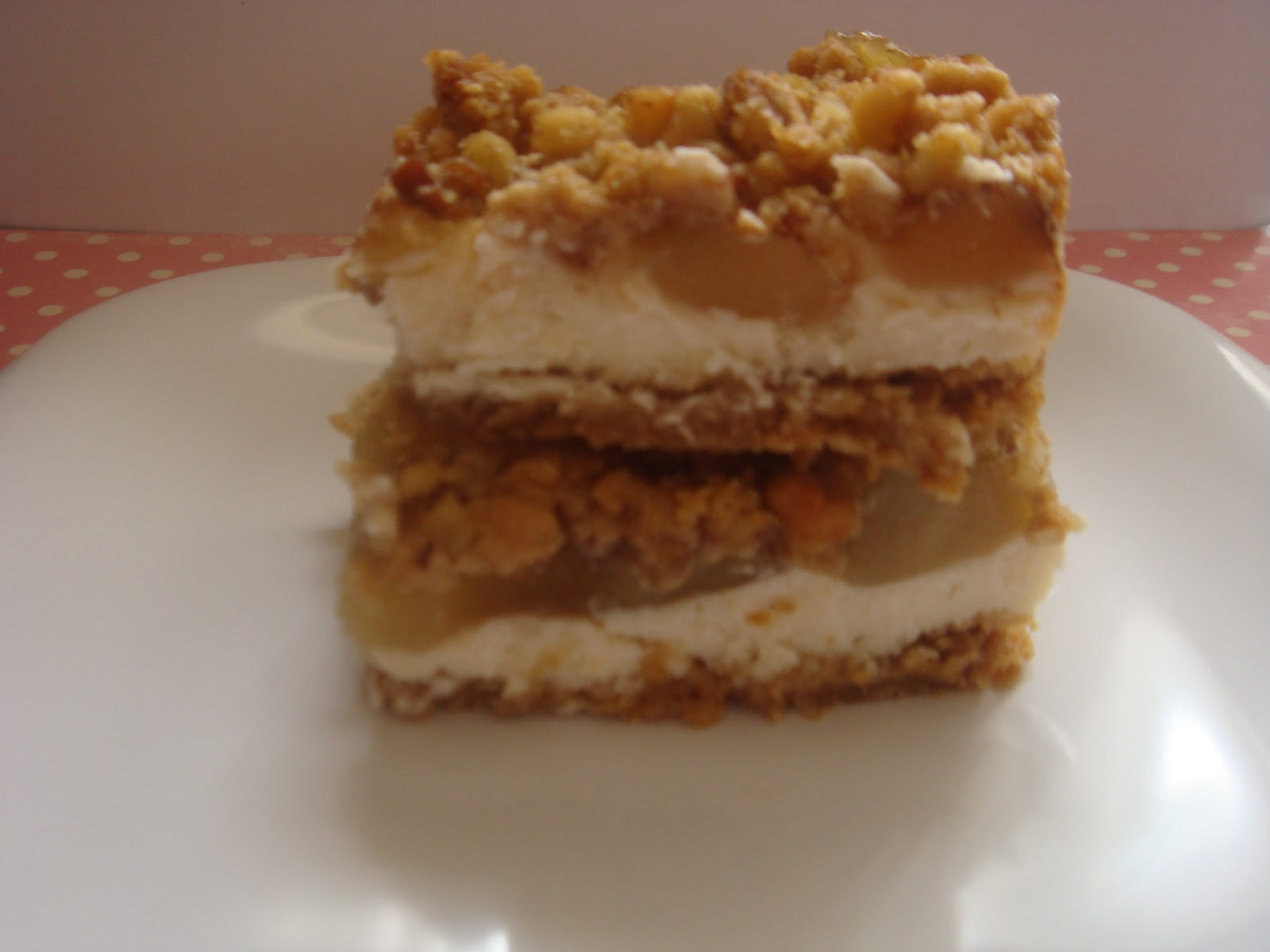 The Sweetest Obsession: Apple Streusel Cheesecake Bars