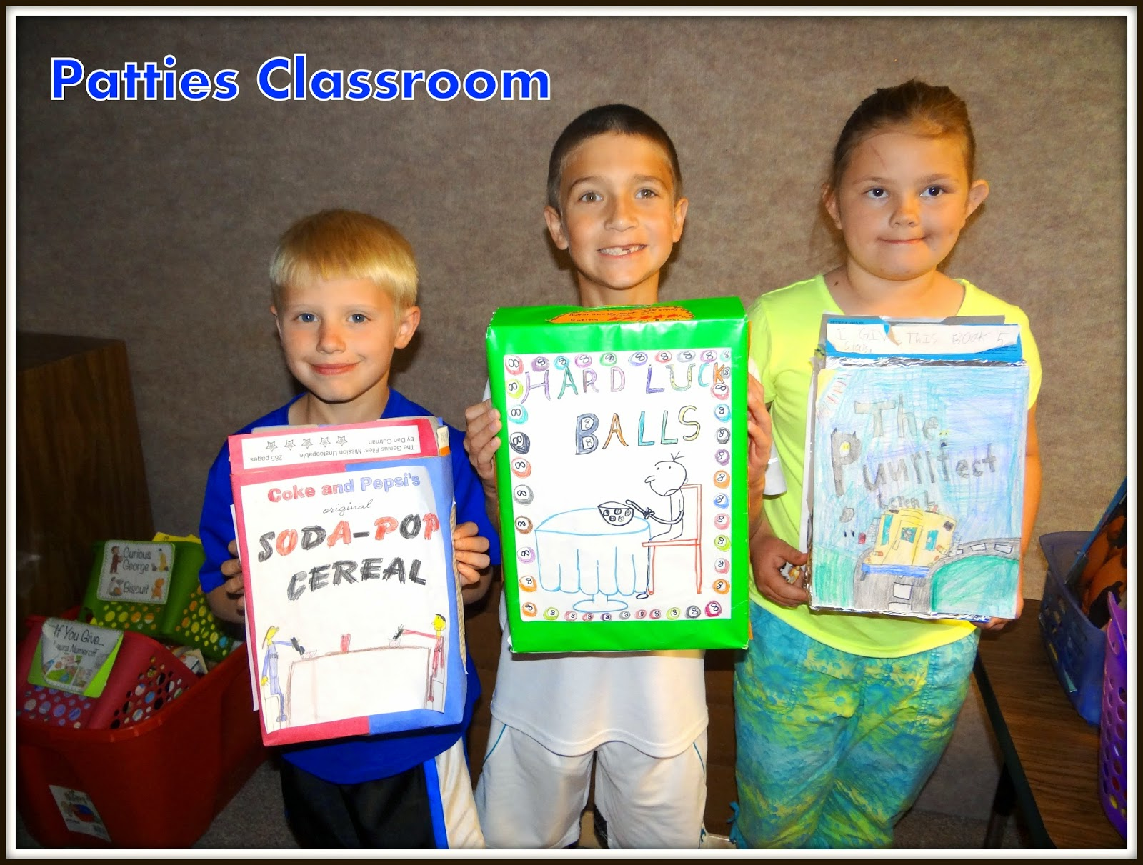 Patties classroom cereal box book reports some more creative names for cereal box book reports ccuart Gallery