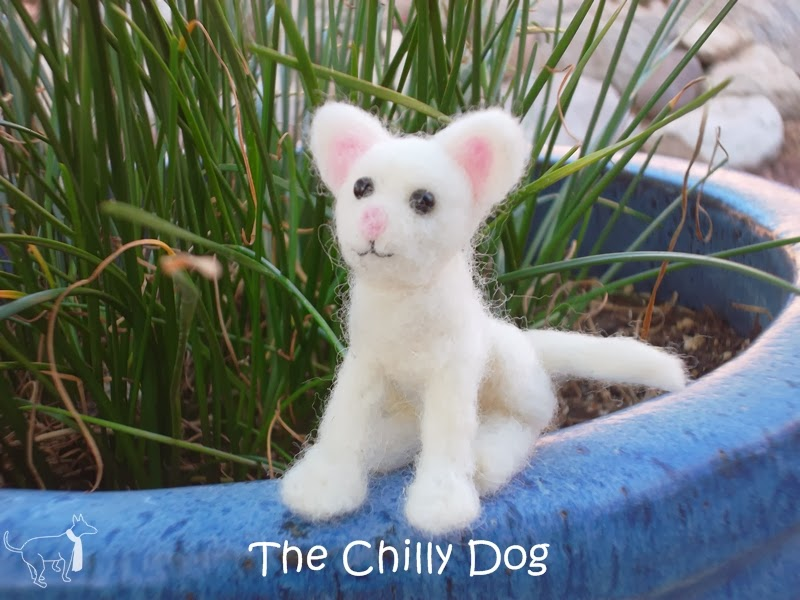 Felted Cat - Book Review of Little Felted Animals: Create 16 Irresistible Creatures with Simple Needle-Felting Techniques