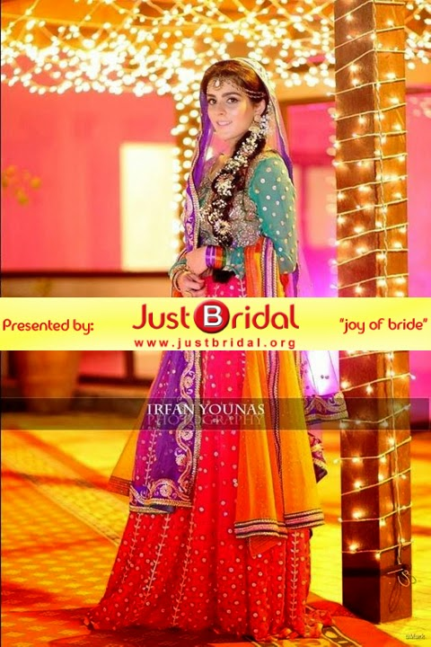 new mehndi dresses collection for Pakistani girls
