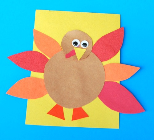 Invitation To Create Turkey Time What Can We Do With Paper And Glue