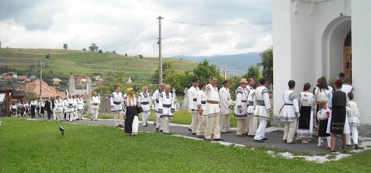 """2011: Sărbătoarea """"Fiii satului"""", la Subcetate"""