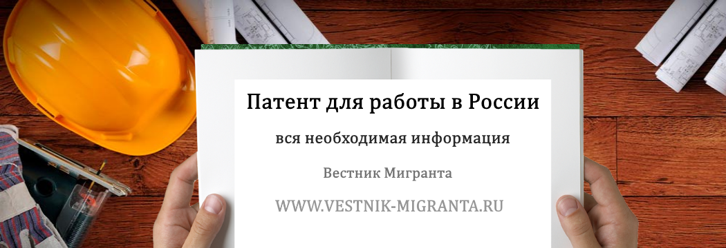 Вестник Мигранта: Патент для работы