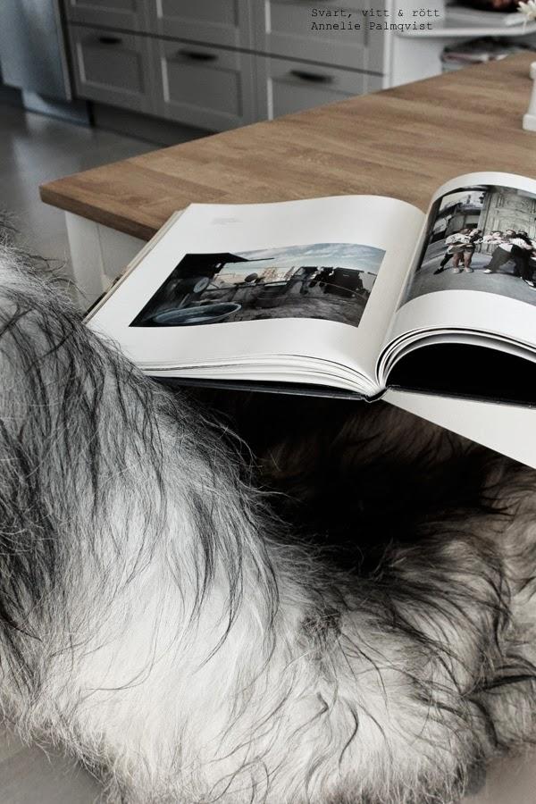 loppistips, fina böcker på loppis, ta bort omslaget, fårskinn på stol, matbord,