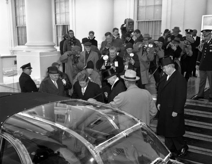 JFK bubbletop Washington, D.C. 1/20/61
