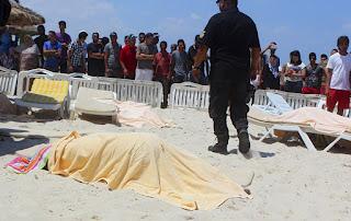 Aumenta numero muertos atentado hotel español en Túnez