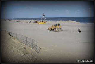 mount sandy sea bright nj route 35 sand dune replenishing beach
