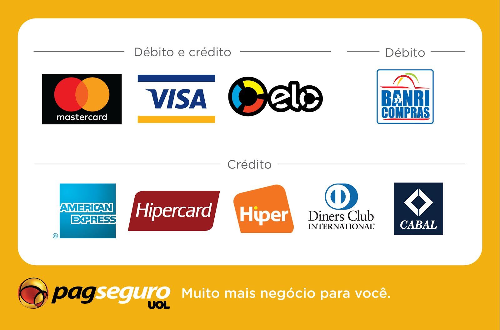 Acréscimo de R$10,00 no crédito ou débito