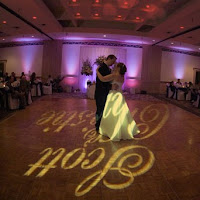 Wedding Dance Floor Decorated With Personalized Lighting