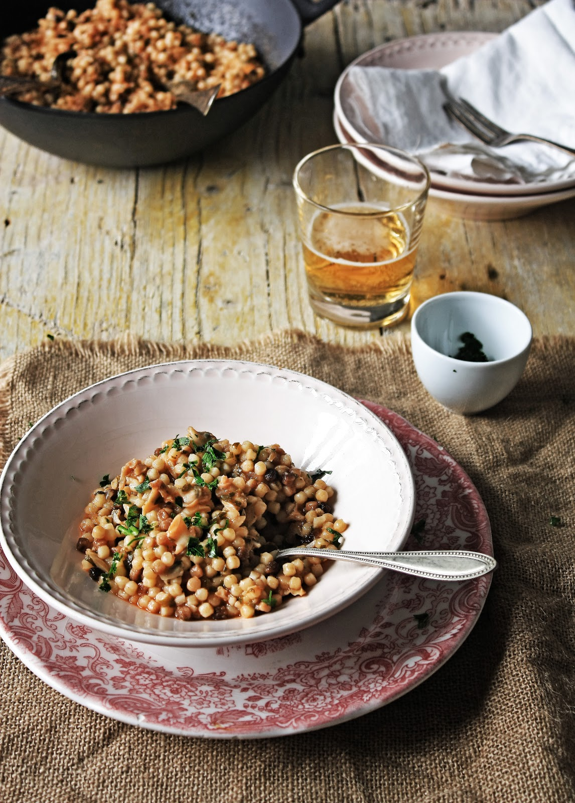 how to cook toasted fregola