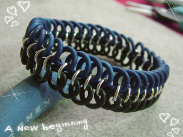 Elastic Chainmaille Male Bracelet