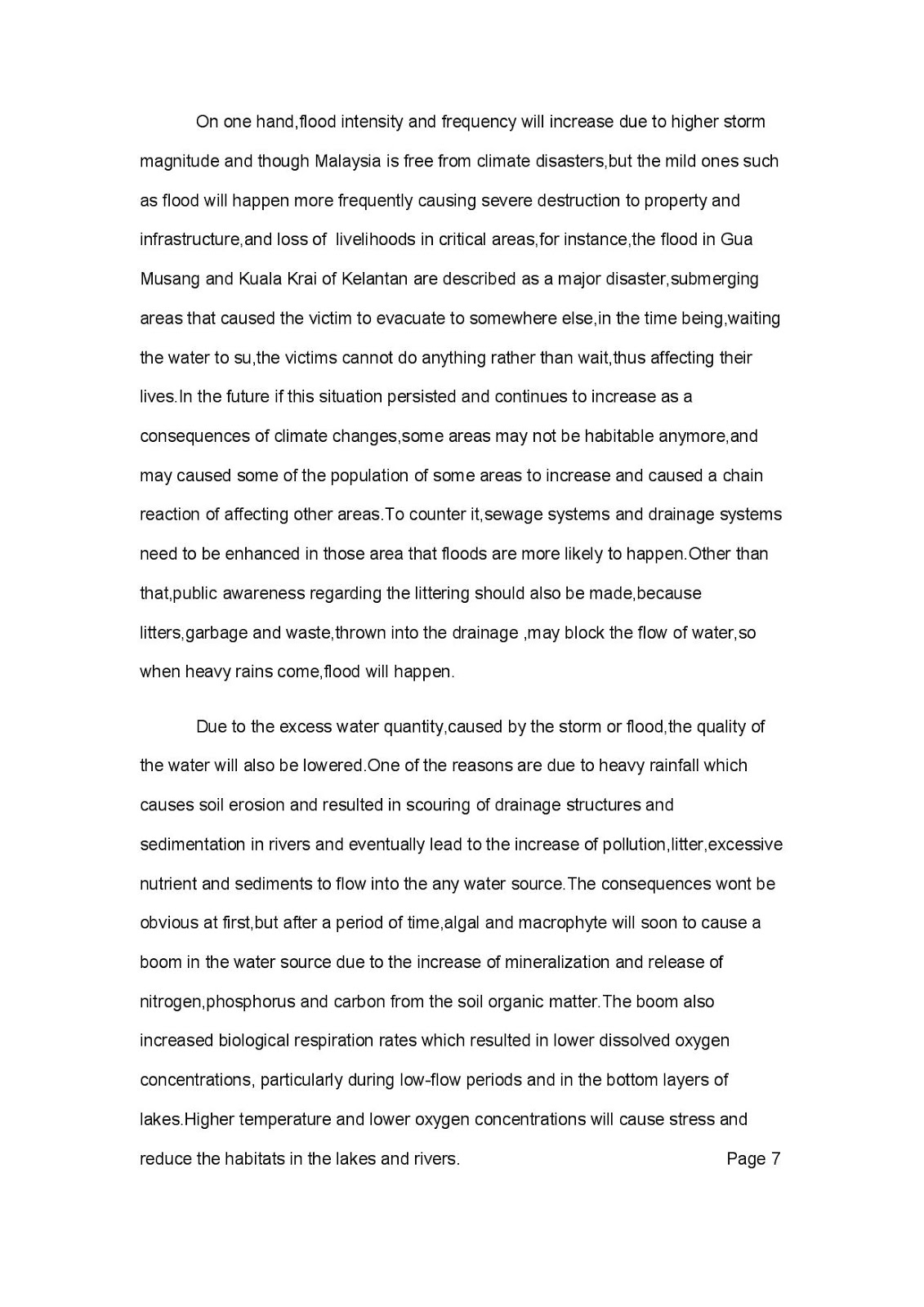 wong yan ce`architecture`e portfolio environmental sustainable design 1 nature us reflective essay we have to explore and write on environmental issues relating it to the people and built environment