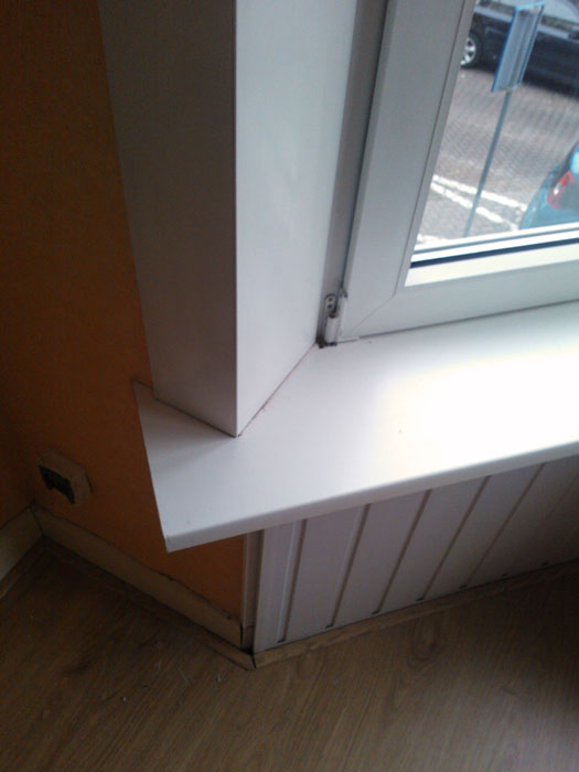 schimmel kit raam