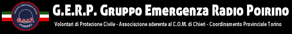 GERP Gruppo Emergenza Radio Poirino