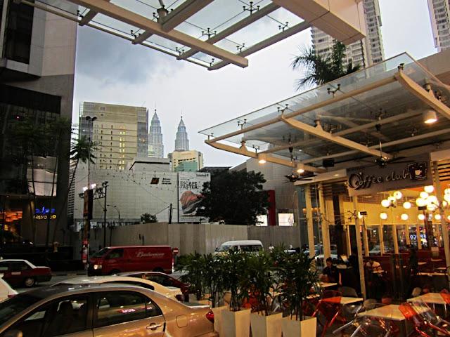 commercial mall in Kuala Lumpur in Malaysia