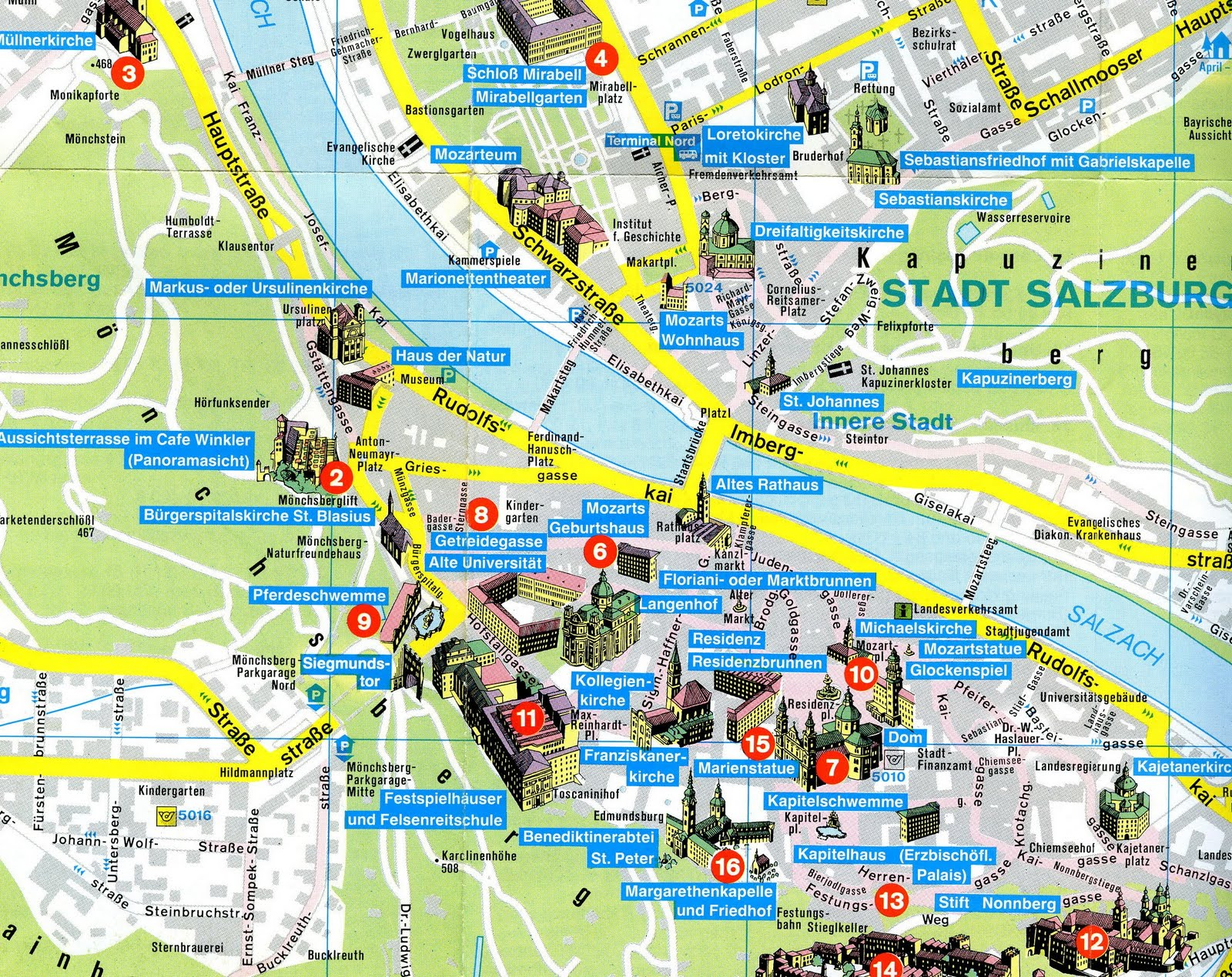 SITI ZUBAIDAH ISMAIL September 2011 – Munich Tourist Attractions Map