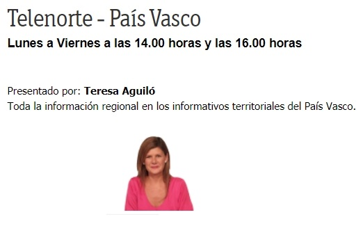 TELENORTE TV PAIS VASCO