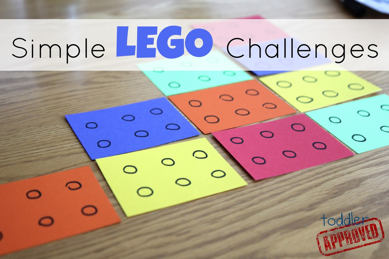 Toddler approved simple lego challenges for kids for Lego crafts for kids