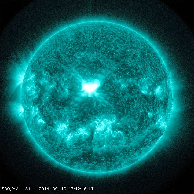 TEMPESTADE SOLAR!! Solar