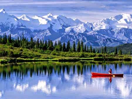 Pemandang Salju Terindah di Alaska
