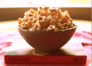 preloved popcorn pink snack recipe shirley marr