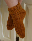Deliciously Thick Ribbed Socks Pattern