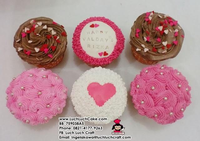 Cupcake Valentine Cantik Daerah Surabaya - Sidoarjo