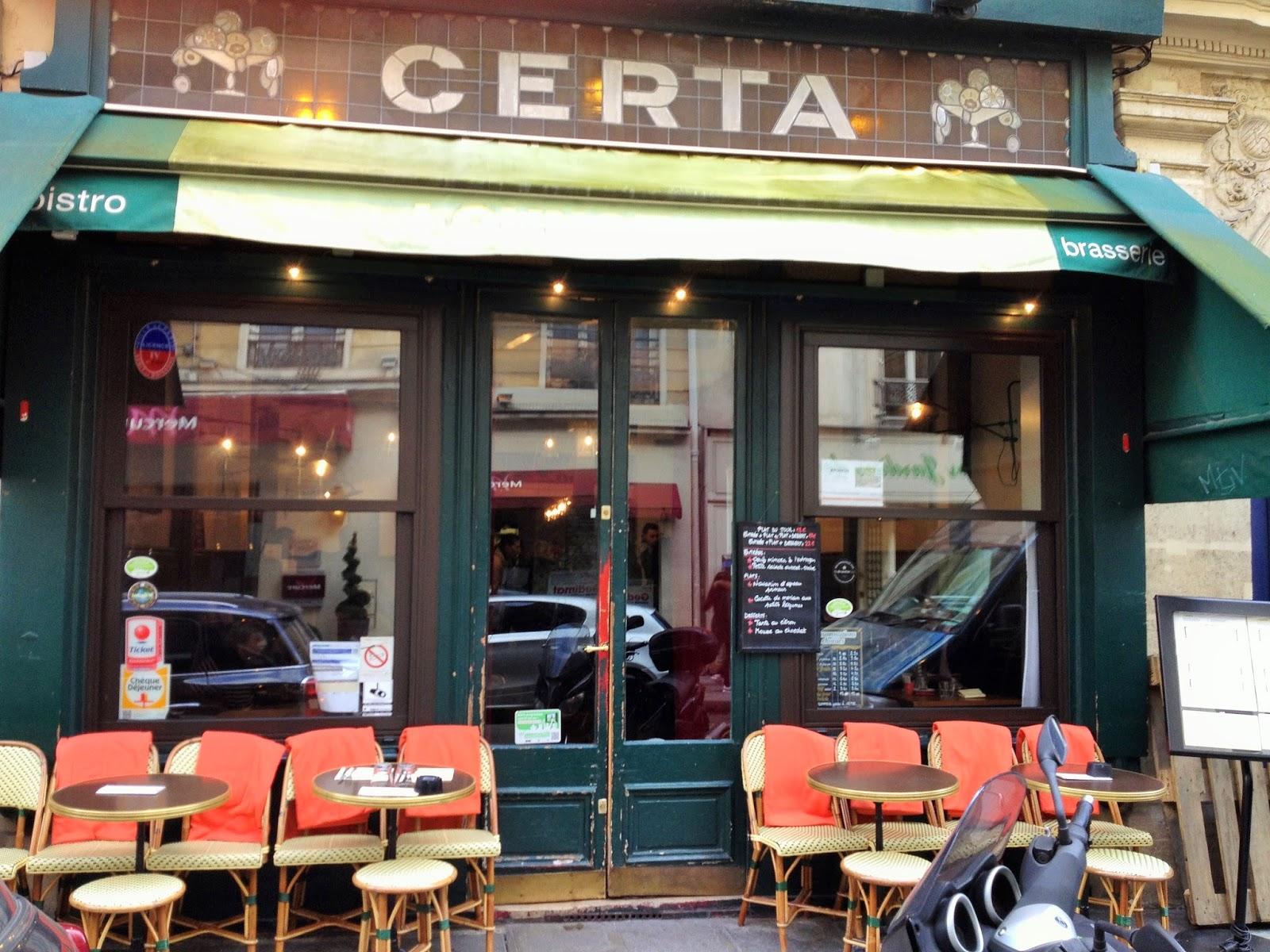 Café Certa Paris