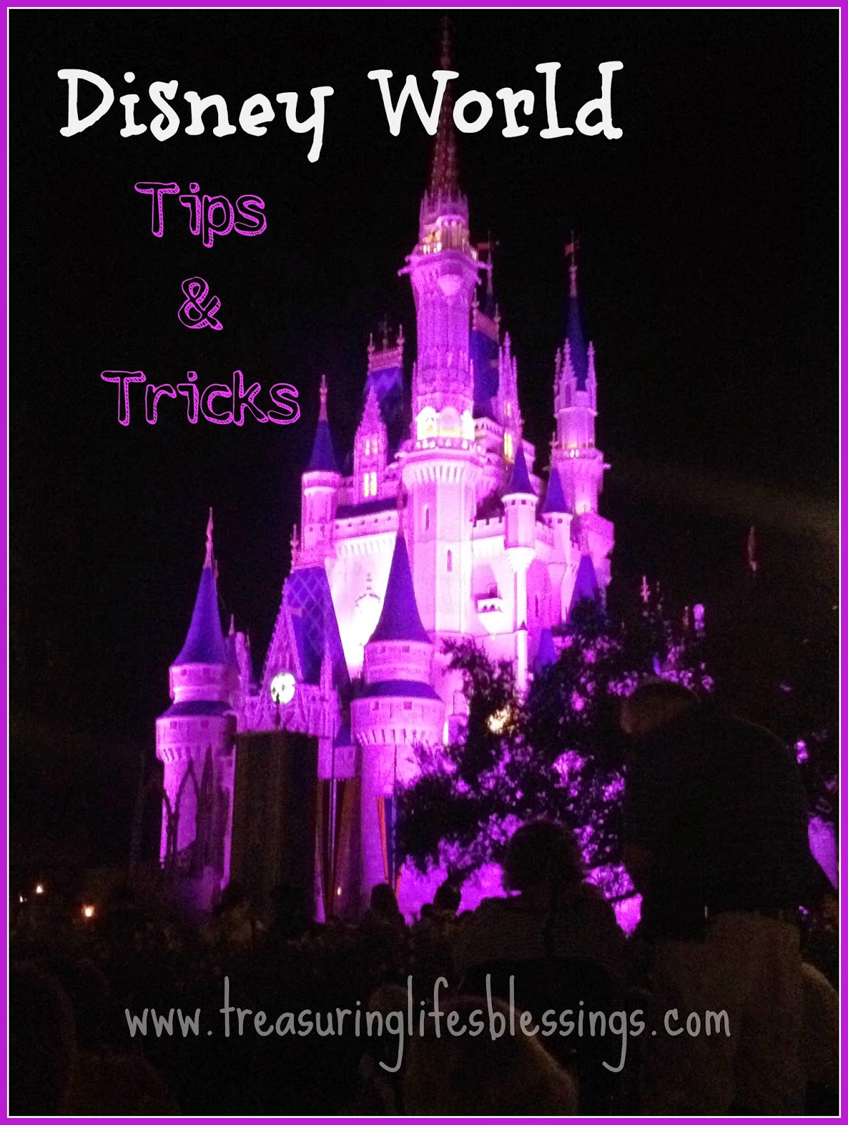 Disney World Tips and Tricks for Inexpensive Trip