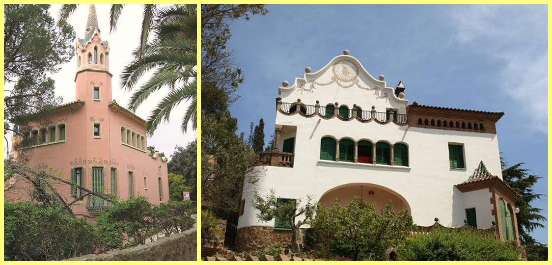Casas Parque Güell