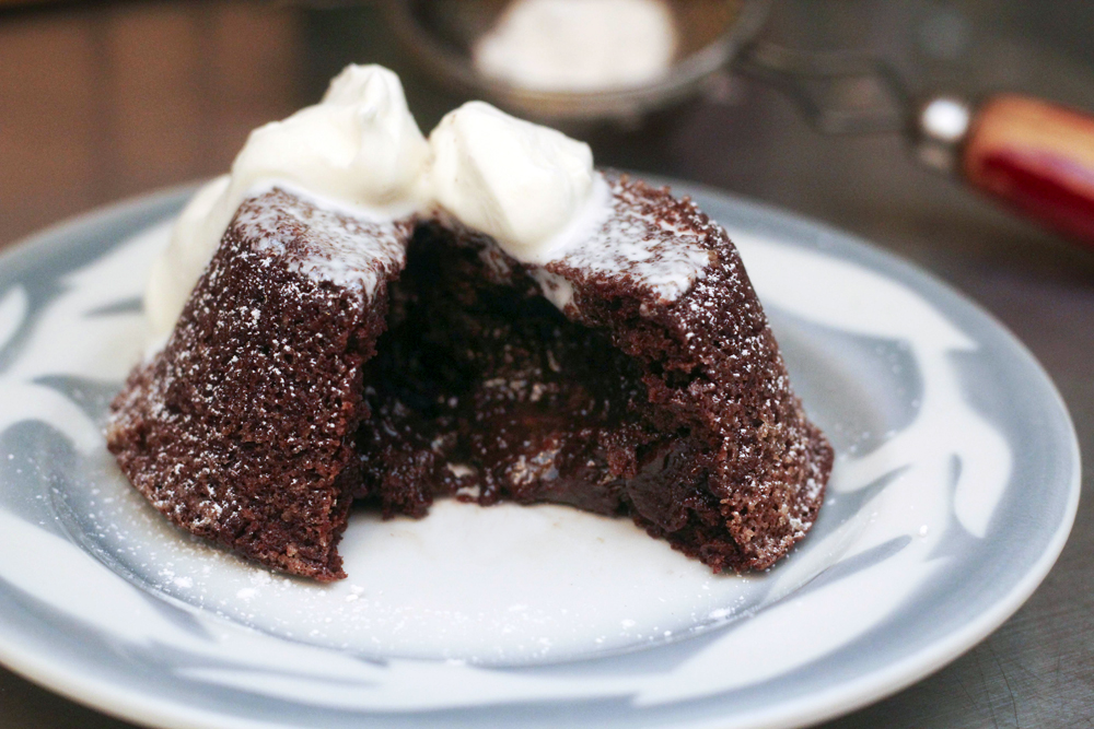 The Butcher and The Baker: Recipe: Molten Chocolate Cake