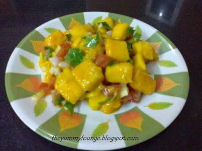 Recipe for Mango Salsa