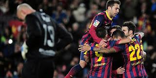 Video Gol Barcelona vs Malaga 27 Januari 2014