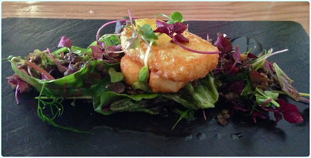 Eric's Restaurant, Huddersfield - Halloumi