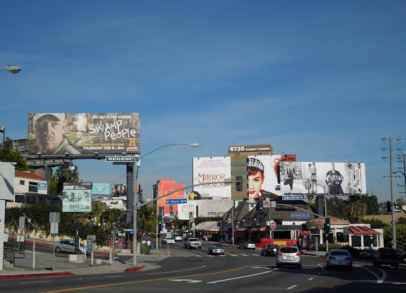 Sunset Strip billboards Feb 2012
