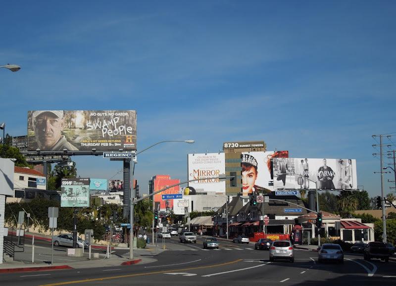 Sunset Strip billboards Feb 2012