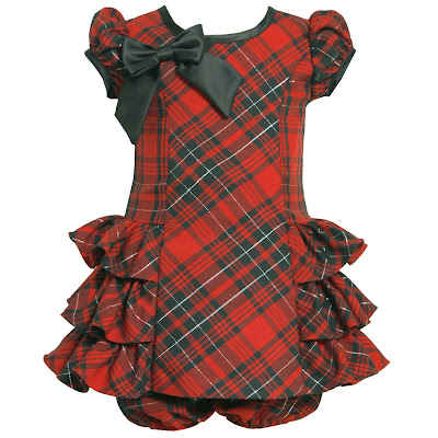 Christmas Party Dress on Holiday Party Dress   Red Plaid Christmas Dress For Baby Girl Jpg