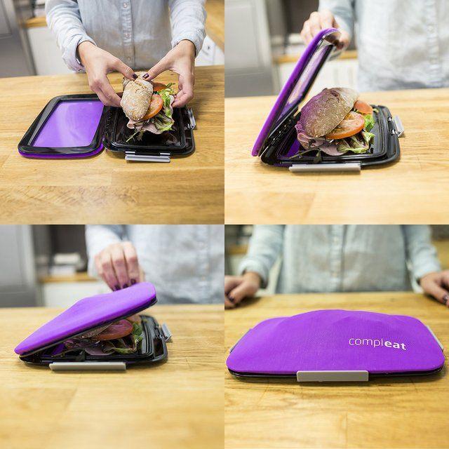 Cool Food Gadgets Foodskin Flexible Lunchbox Men S Gear