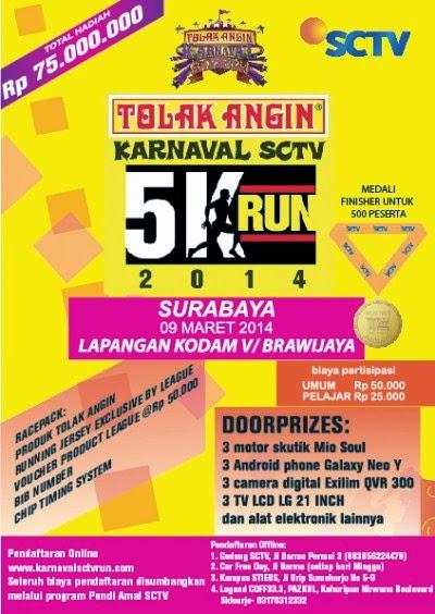 Karnaval SCTV Run 5K 2014