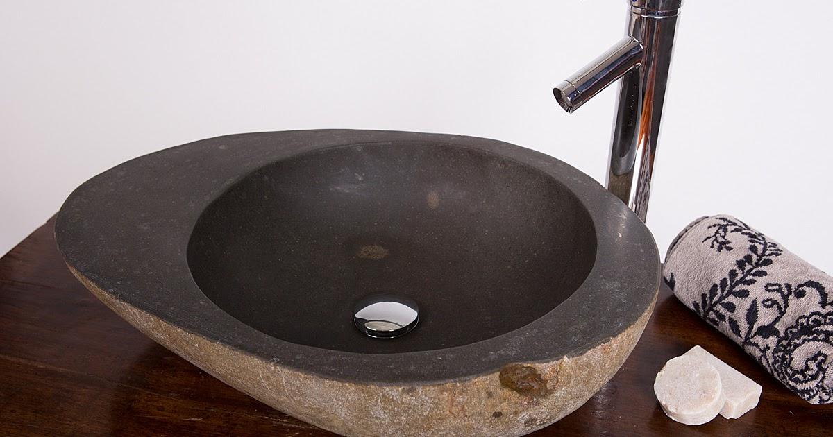 Pacific baths rock bath stone bath hot tubs avocado basins - Lavabos de piedra natural ...
