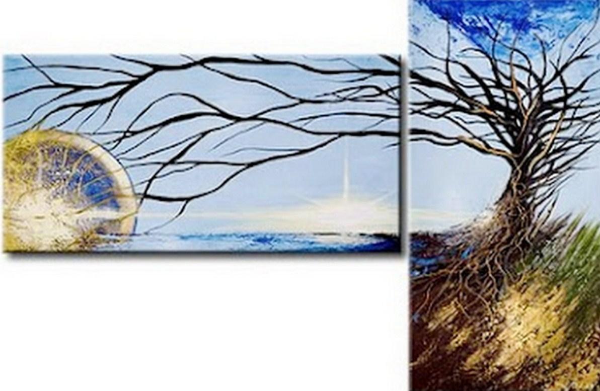 Pinturas cuadros lienzos paisaje minimalista moderno for Minimalismo moderno