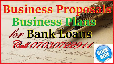 How to write a business proposal for a loan