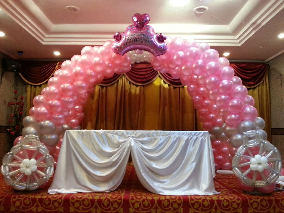 Balloon designs pictures balloon decorations for Balloon decoration arches