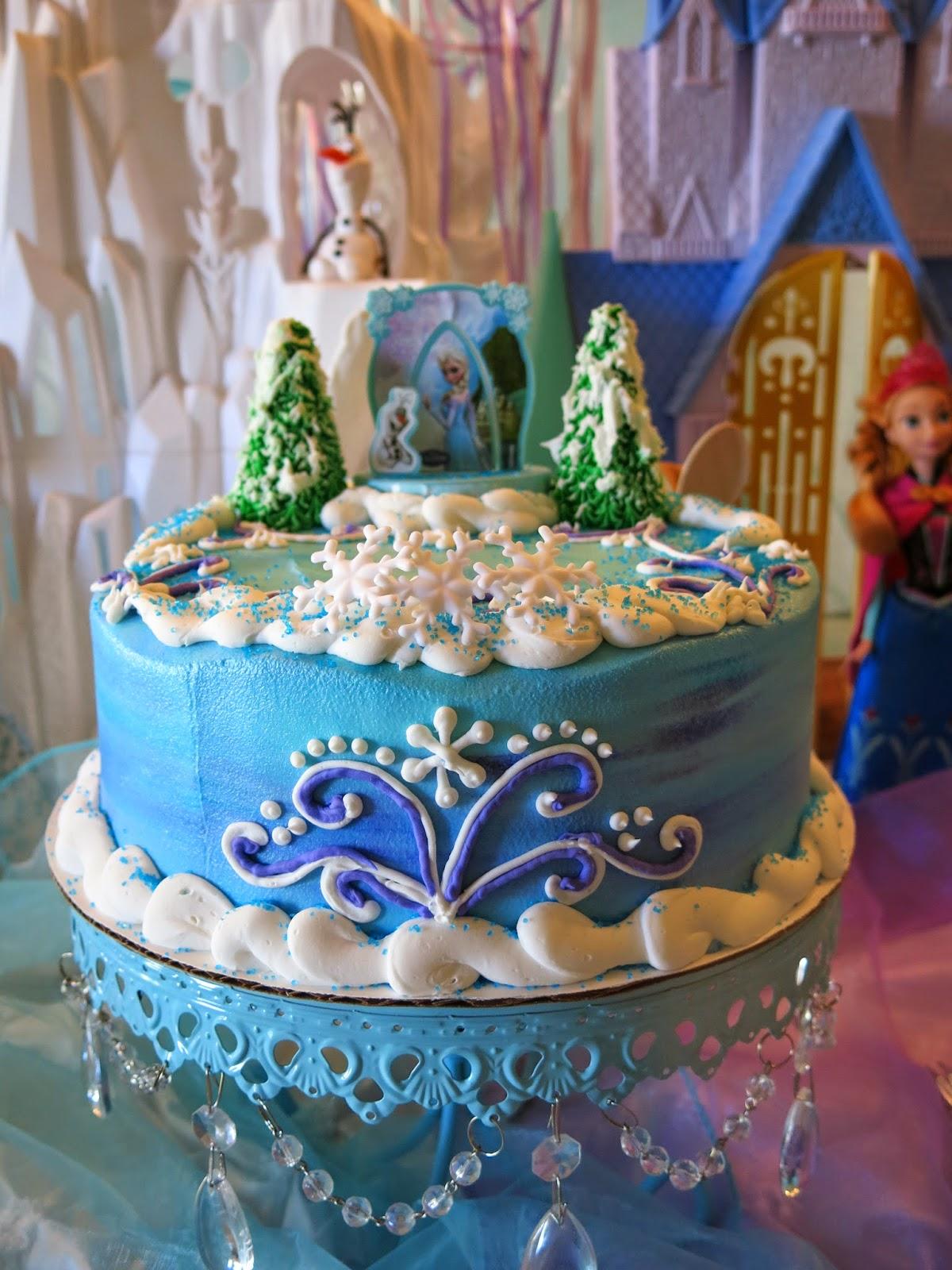Elsas Frozen Party Tablescape Purple Chocolat Home