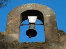 Detall del campanar de la capella de Santa Àgata