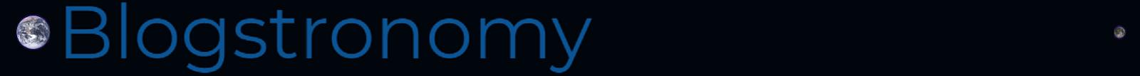 Blogstronomy