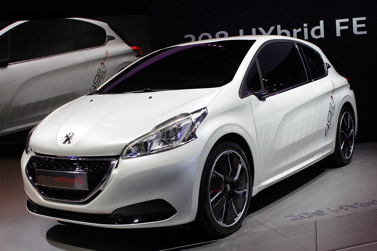 automotiveblogz peugeot 208 hybrid fe concept. Black Bedroom Furniture Sets. Home Design Ideas