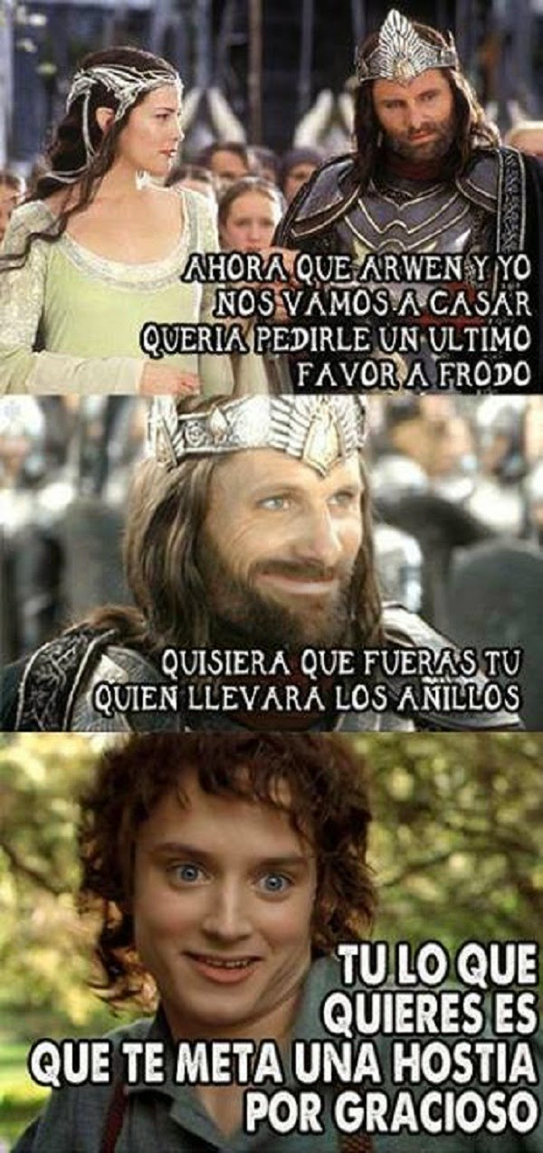 Un favor de Frodo